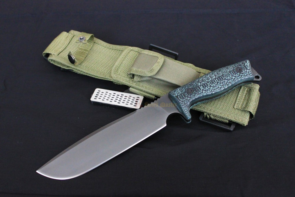 Heavy Duty Military Survival Tactical Hunting Knife with ...